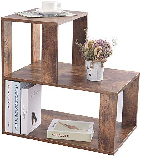Amazing Offer On IWELL Rustic Large End Table, Wooden 3