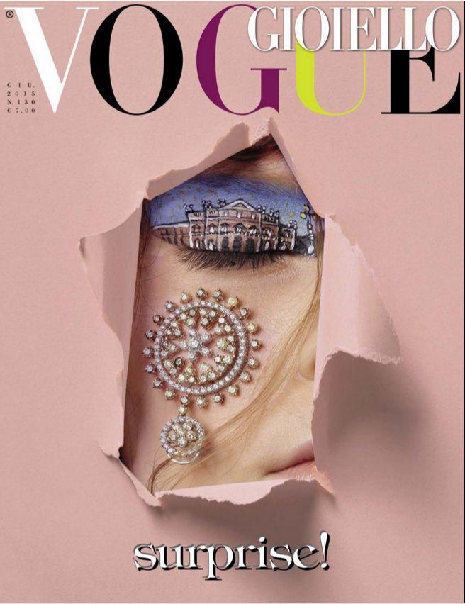 Moraglione 1922 on Vogue gioiello June 2015 #vogue #italy #moraglione #1922 #italianluxury #jewellery #jewels