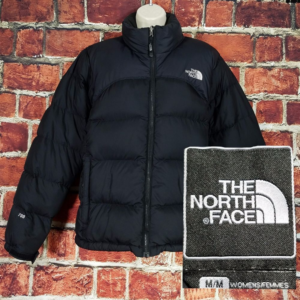 The North Face Nuptse Jacket Women 700 Goose Down Fill Puffer Coat Size M  Black  TheNorthFace  Puffer  Outdoor 7f26d6d1ed