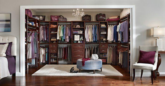 Perfekt Wohnideen Schlafzimmer ~ Schlafzimmer mit begehbarem kleiderschrank eine perfekte ordnung