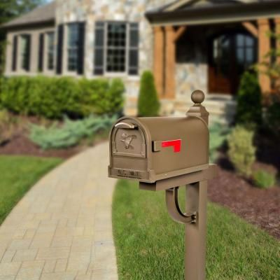 Gibraltar Mailboxes Aberdeen Decorative Classic Style Steel