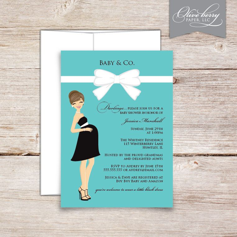 Baby & Co. Shower Invitations | Shower invitations, Babies and ...