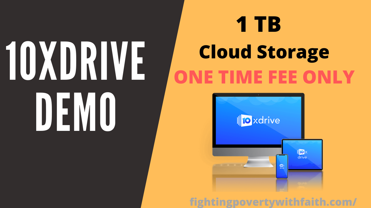 GET Secure 1 TB of Cloud Storage For 10 Years For Low One