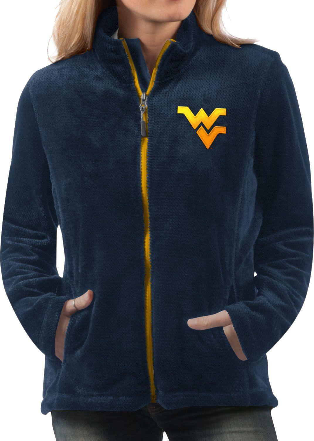 83515d475d1 G-III For Her Women s West Virginia Mountaineers Blue Goal Line Full-Zip  Jacket