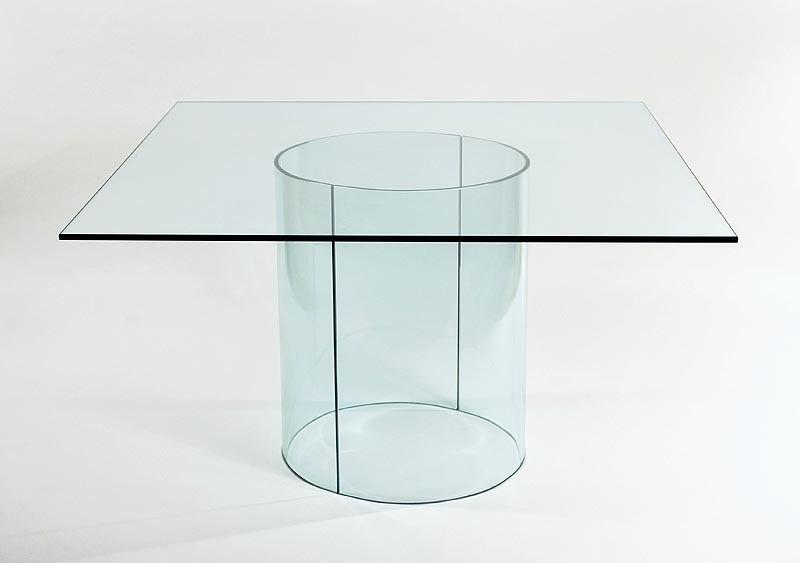 Carosello Glass Dining Table Bases Only Vivamodern