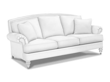 For Ethan Allen Hyde Three Cushion Sofa 207073 And Other Living Room