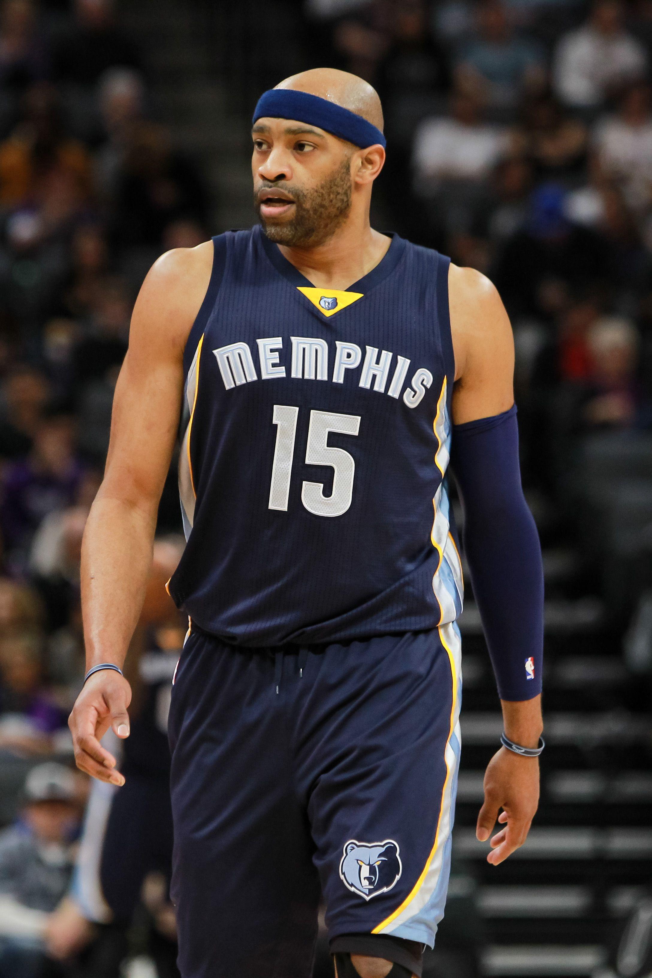 separation shoes 4dff6 24210 Vince Carter - Memphis Grizzlies 2014 to 2017 | NBA ...
