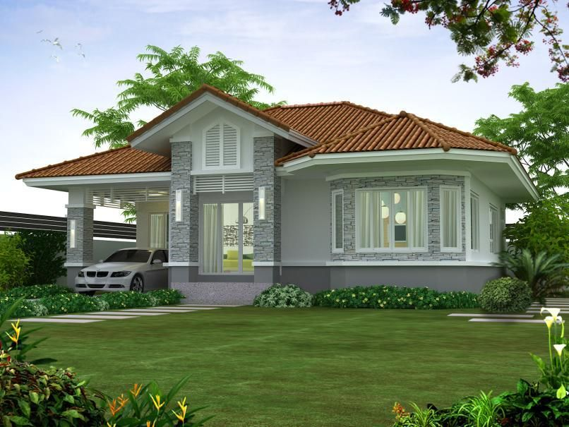 100 Small Beautiful House Design Photos That You Can Get Ideas From Simple House And Bungalow Type Small House Design House Design Photos Simple House Design