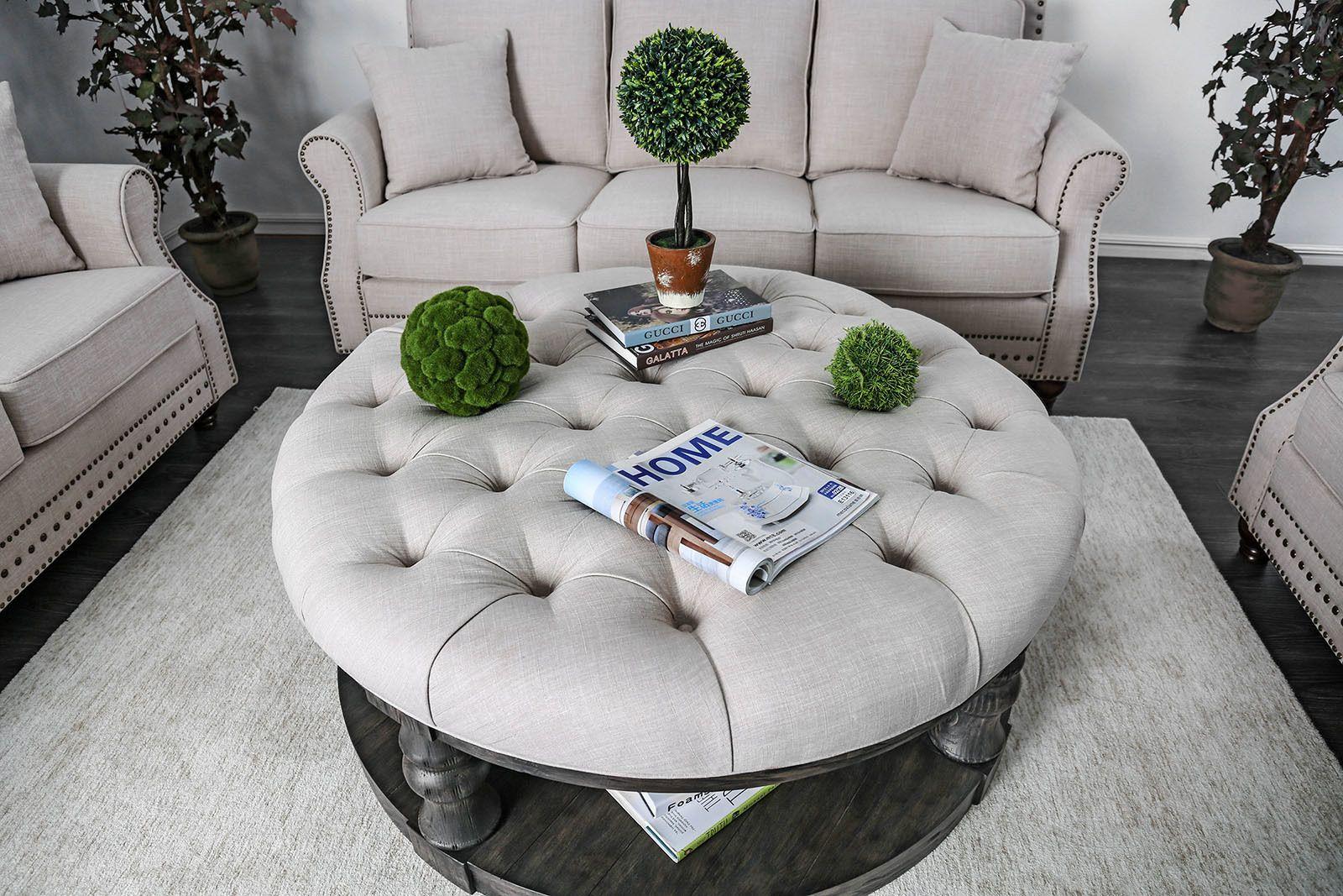 Mika Ii Gray Coffee Table Cm4424ga F C Furniture Of America Coffee Tables Round Wood Coffee Table Coffee Table Coffee Table Farmhouse [ 1067 x 1600 Pixel ]