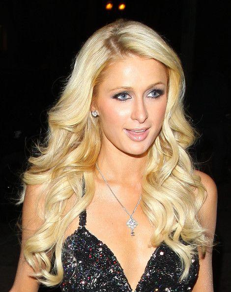 Paris Hilton Long Curls Cabello, Famosos y Bonitas