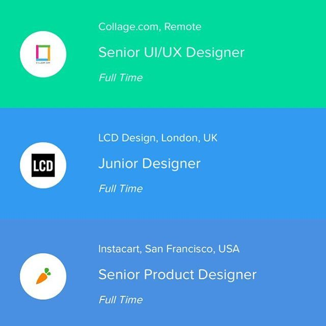 3 Awesome New Design Jobs Just Added To Workforthem Workforthem Is Fast Becoming The Number One Jobs Board For Designers Ma Design Jobs Web Design Job Board
