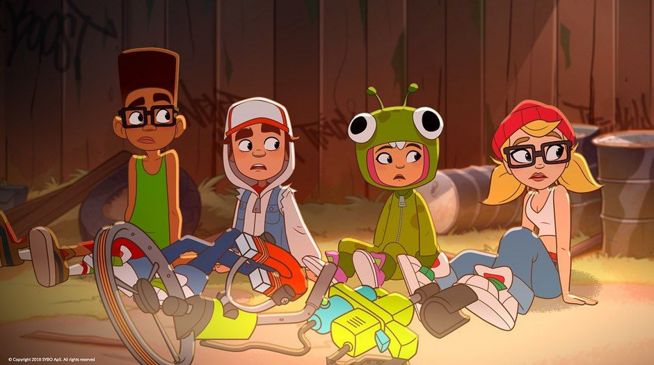 subway surfers animated shorts series premieres