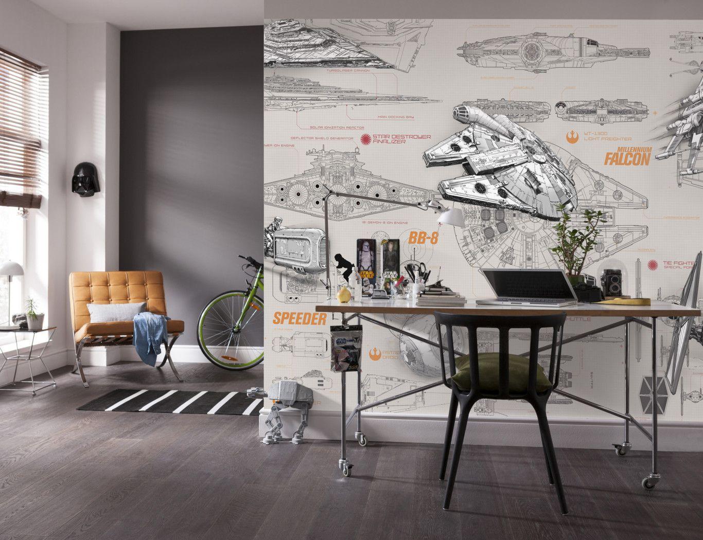 Decoraci N Star Wars Inspiraci N Fotos De Habitaciones Tem Ticas  ~ Decoraciones Para Habitaciones Juveniles