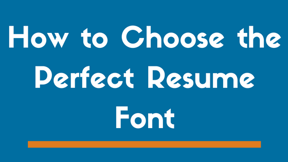 Best Font To Use For A Resume Top 8 Best Fonts To Use On A Resume In 2017  And 3 To Avoid .