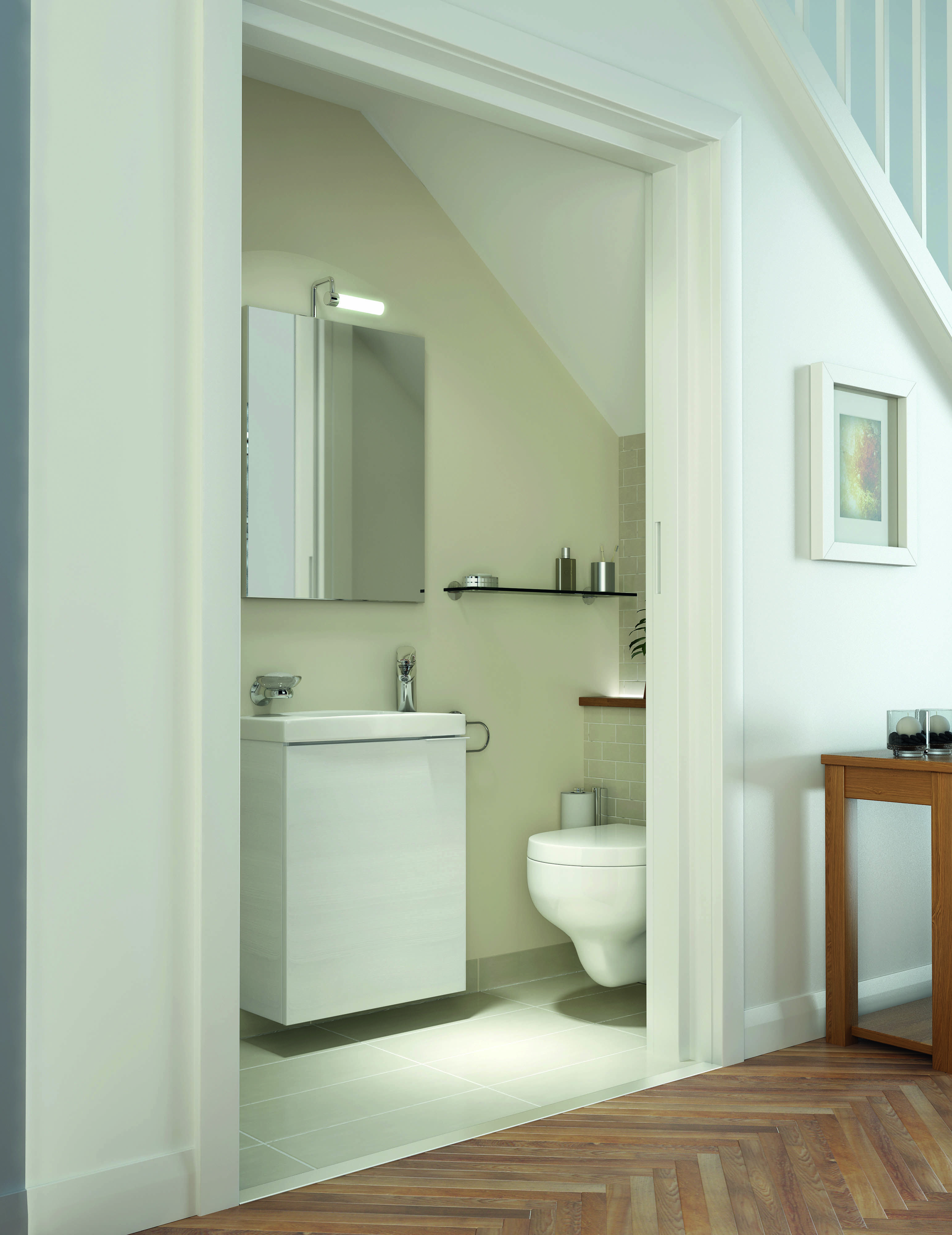 Best Kohler Bathrooms Great Idea For An Under Stairs 640 x 480