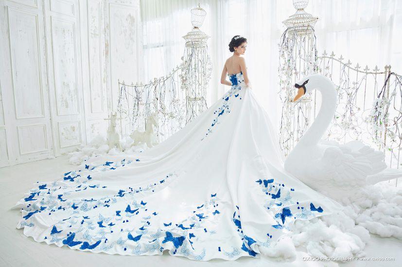 28++ Butterfly wedding dress ideas