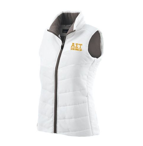 Alpha Sigma Tau Admire Vest from GreekGear.com