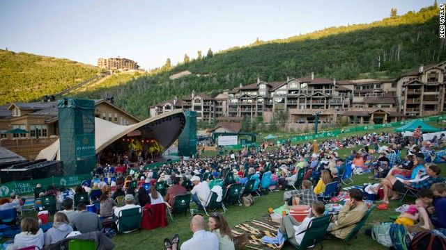 Snow Park Outdoor Amphitheatre In City Utah Hosts The Deer Valley Music Festival From Late June Through Mid August Named Cnn S 8 Amazing