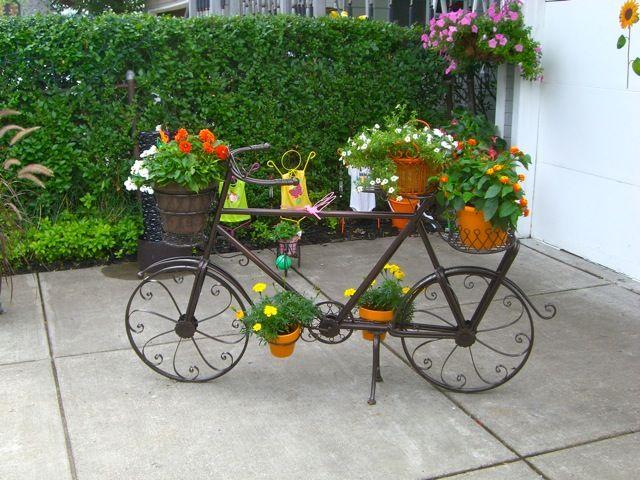 objetos rusticos decoracion jardines | antejardin | Pinterest ...