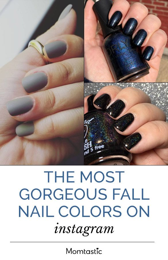 The Most Gorgeous Fall Nail Colors of the Season | Pretty nail ...