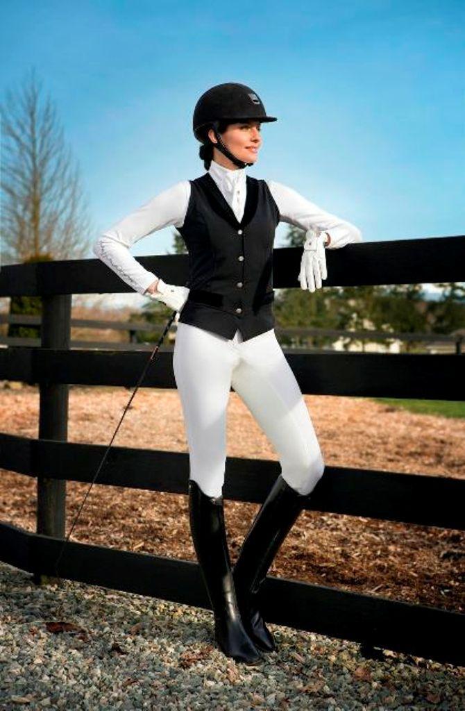 Arista Modern Dressage Vest Equestrian Outfits Horse