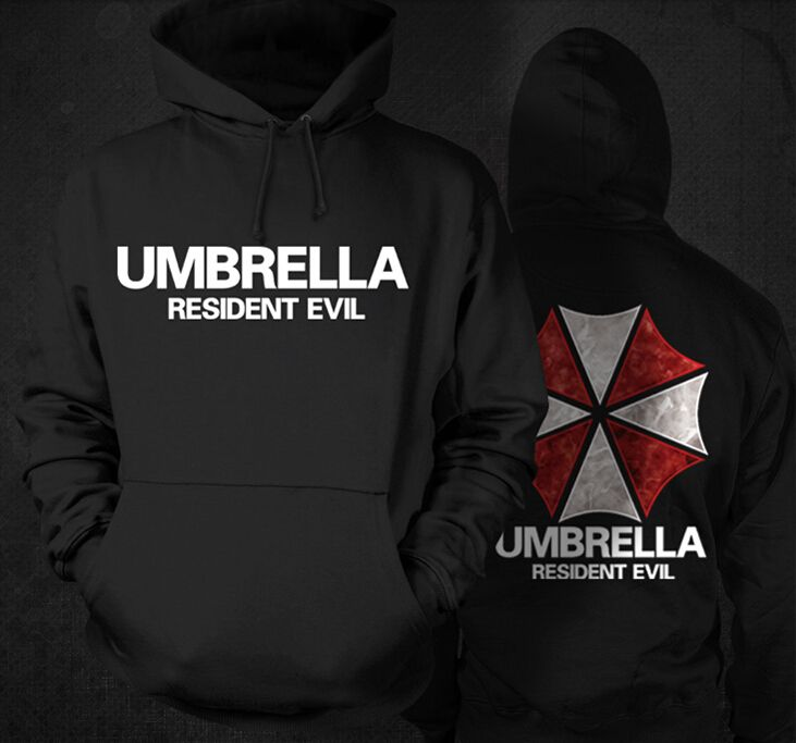 >> Click to Buy << [XHTWCY] Free Shipping Cheapest Men Hoodies Resident Evil Biohazard Umbrella Long Sleeve Cosplay Costume Coat Jacket #Affiliate