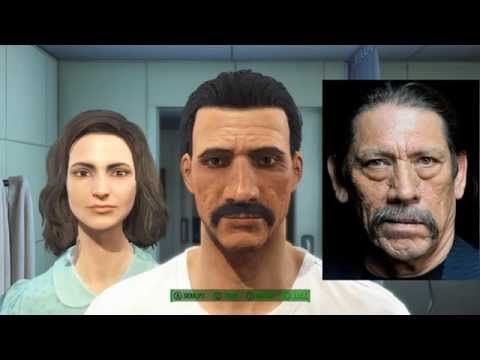 Fallout 4 Create the most badass Wasteland character - Danny Trejo