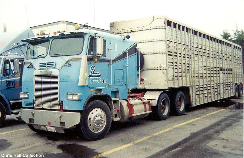 Chris Hall Prouse Transport Collection Freightliner Trucks Freightliner Trucks