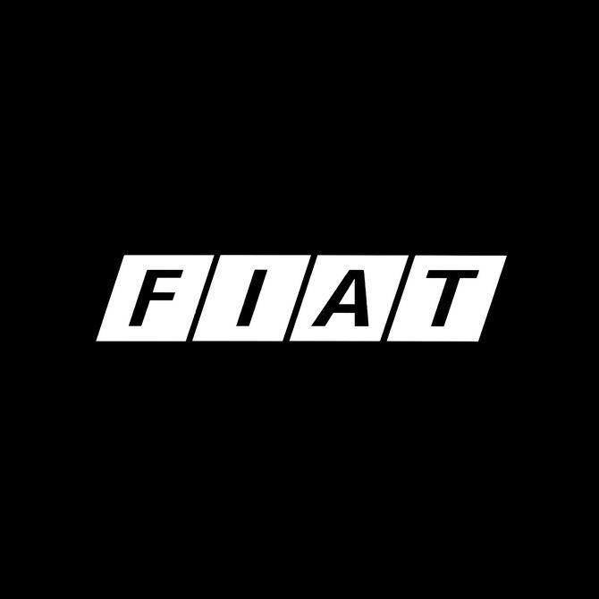 Fiat 1968 Armin Vogt Jean Reiwald Graphic Design Logo Logo