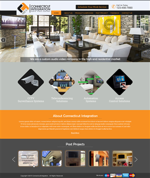 40 Professional Web Designs Residential Web Design Project For A Business In United States Web Design Projects Professional Web Design Web Design