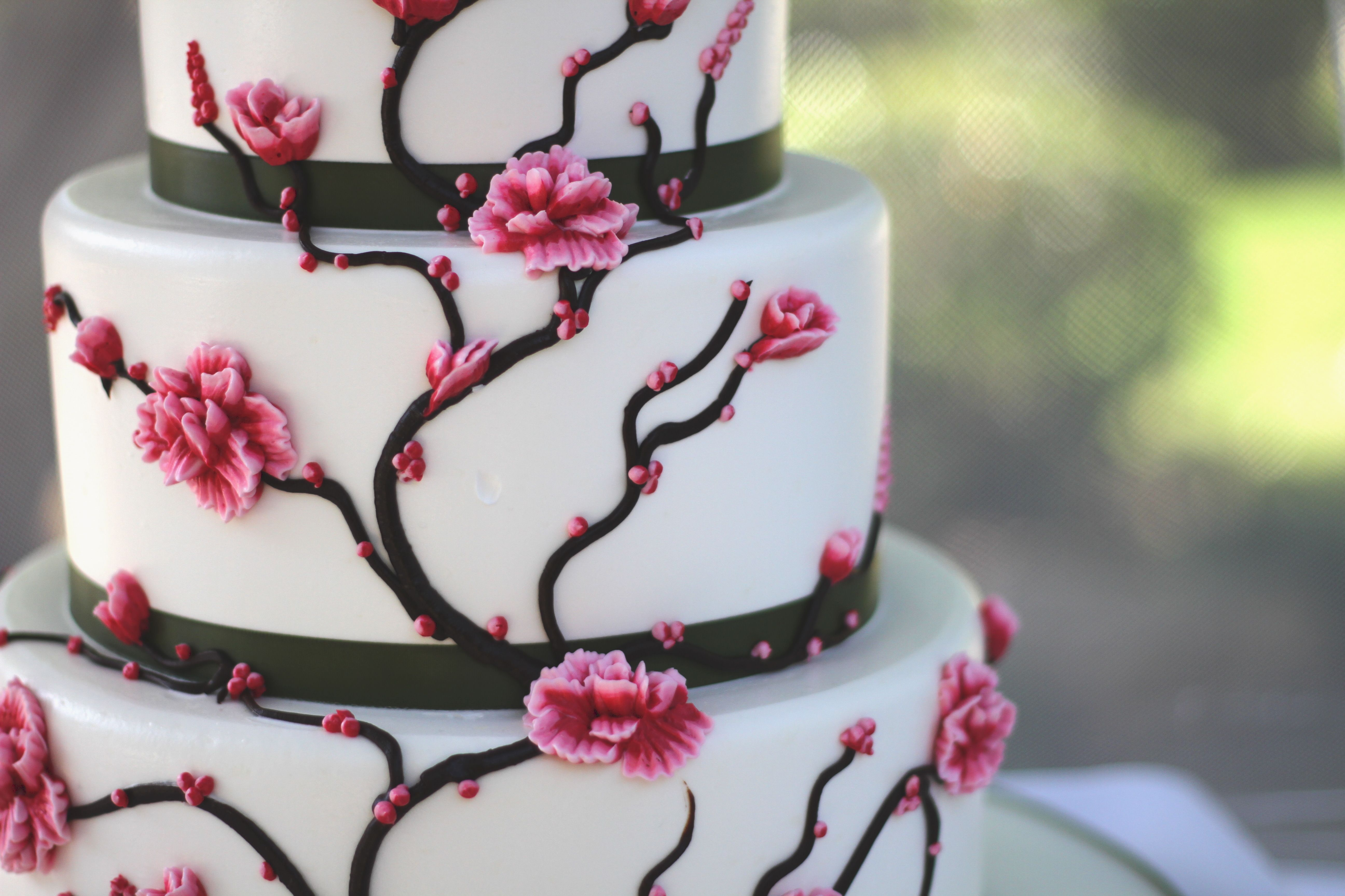 Csulb japanese garden wedding flowers cake wedding cake for Koi fish pond csulb