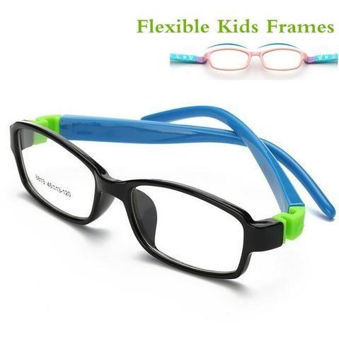4a7cdfc5ac06 Cute Acetato Rubber Kids Glasses Frame Flexible Spectacles Children Frames  Eyewear TR90modlilj