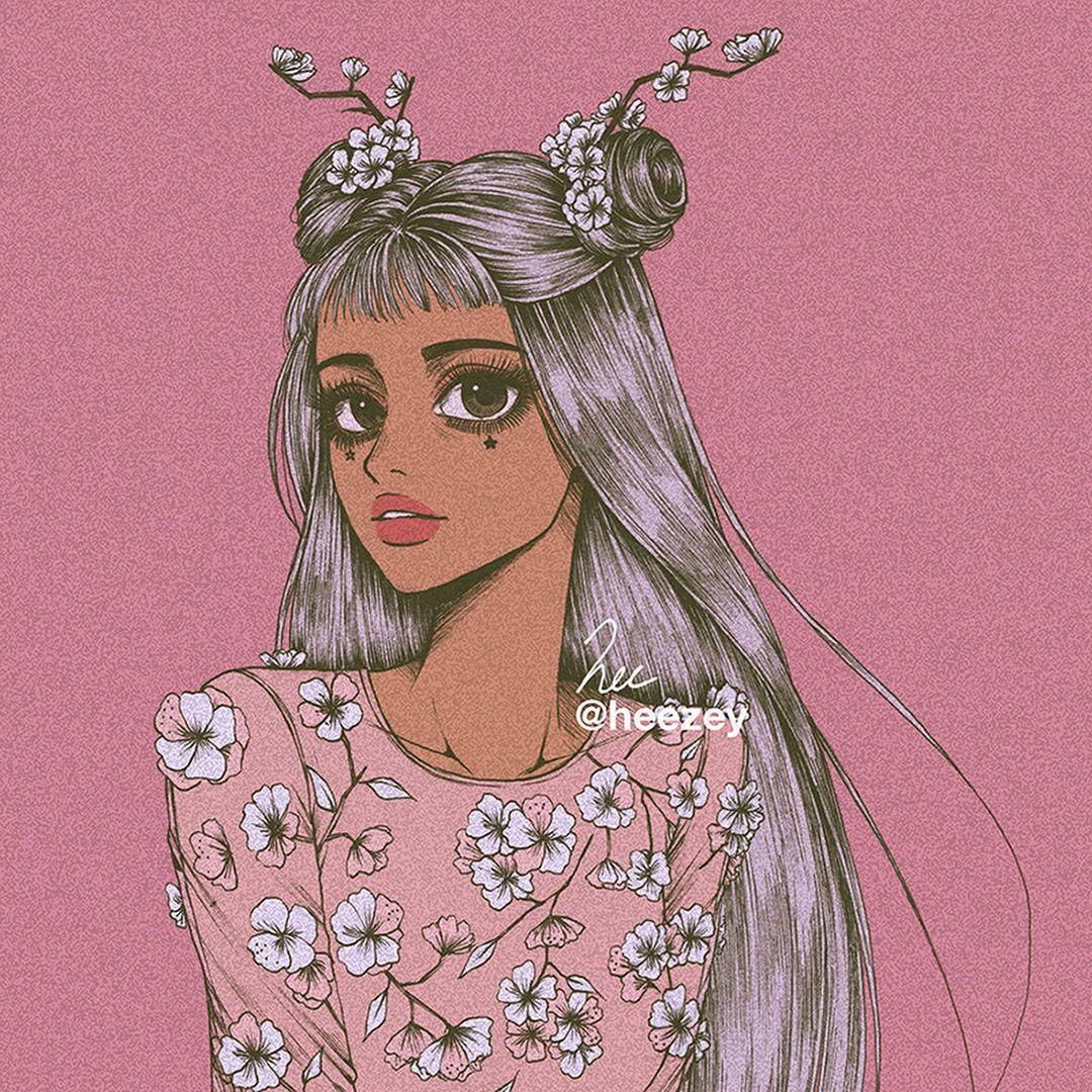 Pin by 𝘊𝘶𝘱𝘪𝘥 ༄ on 一书平♡ Art girl, Cute art, Illustration art