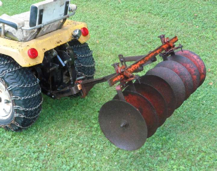 garden disc. Ford Lawn Tractor Disc Harrows | Michael\u0027s Tractors (Simplicity And Allis Chalmers Garden . 0