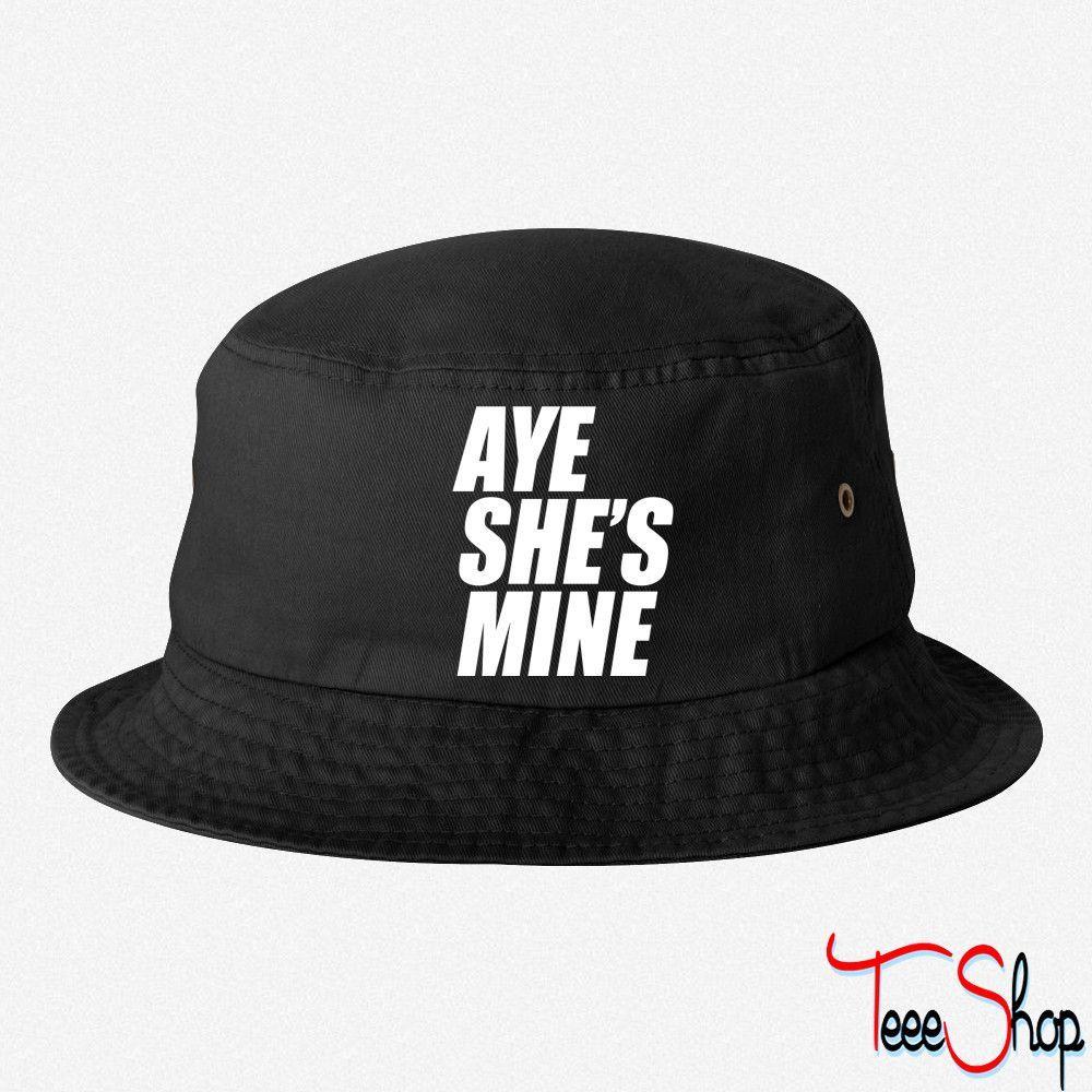 e052cbf524e ... real aye shes mine mine bucket hat 552d3 9f79b