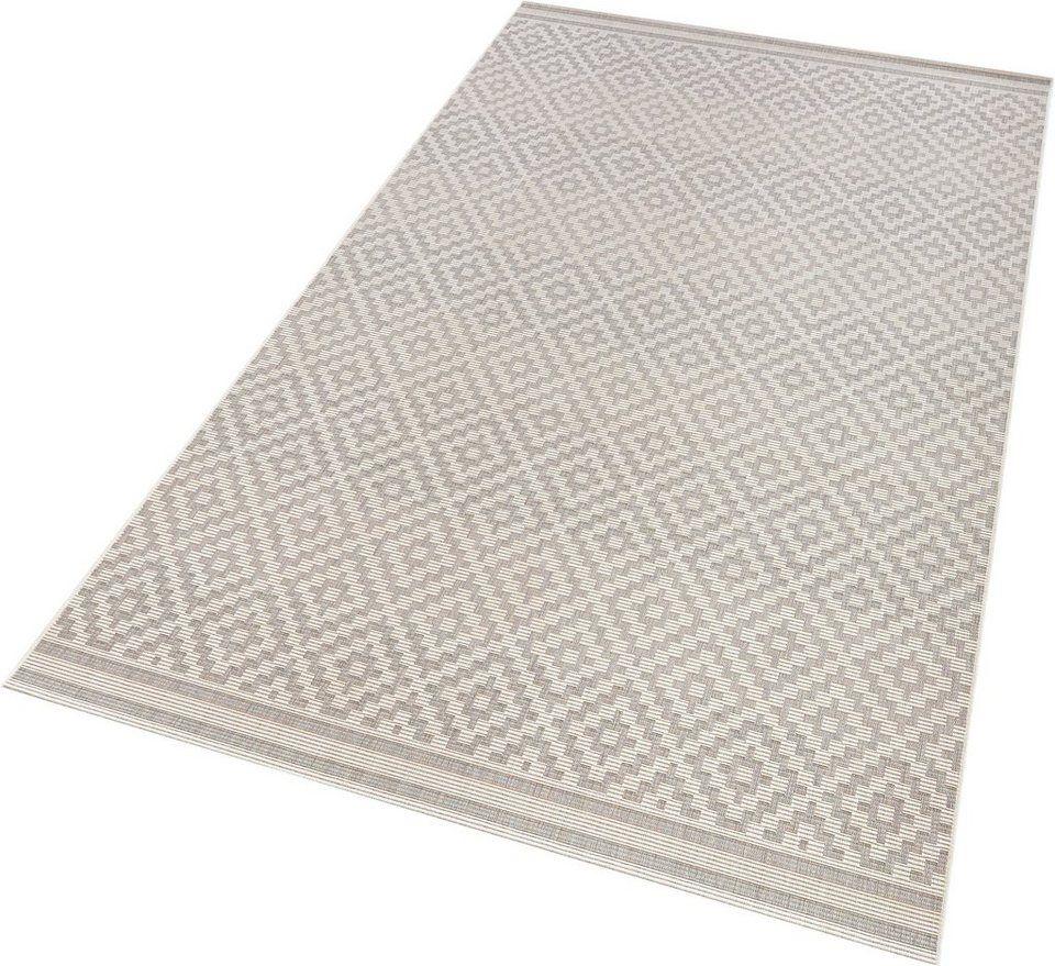 Teppich Raute Bougari Rechteckig Höhe 8 Mm In Und Outdoorgeeignet Sisaloptik Ab 35 99 1 8 Kg M² Gesamtgewicht 8 M Teppich Grau Teppich Raute Teppich