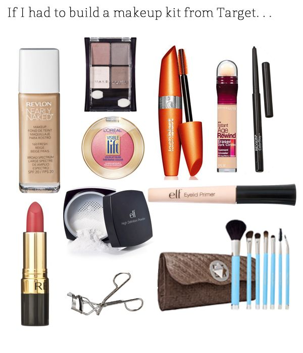 If I Had To Buy An Entirely New Makeup Collection From Target Target Makeup Makeup Collection Makeup Kit