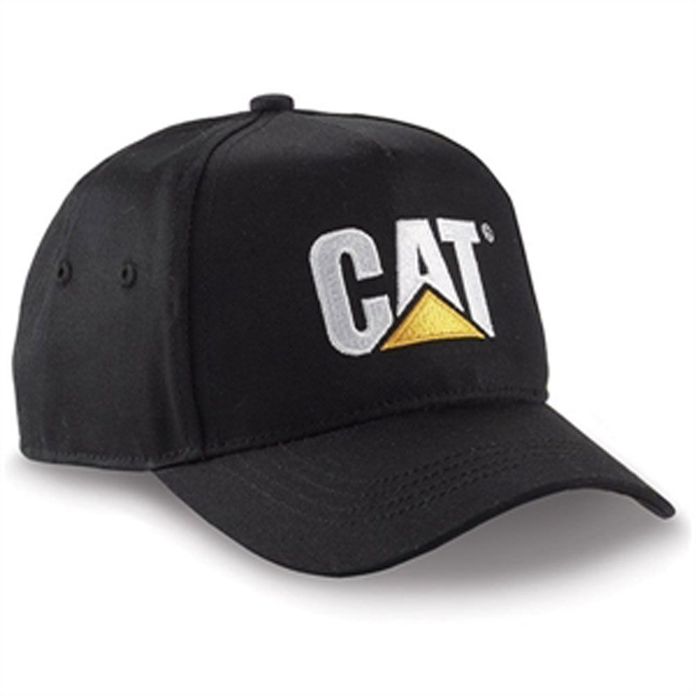 CAT Hats - CAT Caps - Caterpillar CAT Boys Black Kids Youth Caps 9c214a6c699