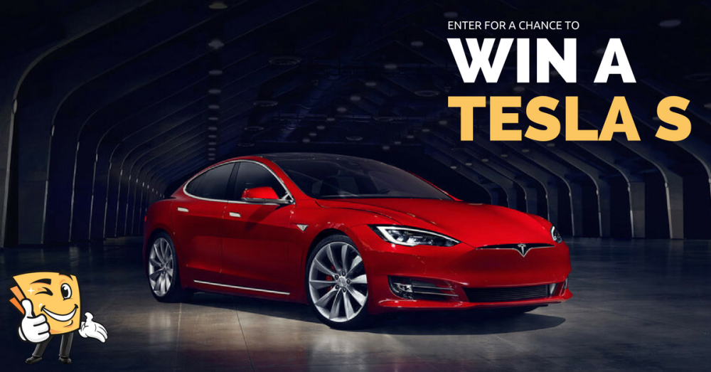 Enter For A Chance To Win A 3 Year Lease On A Tesla S Every Happy