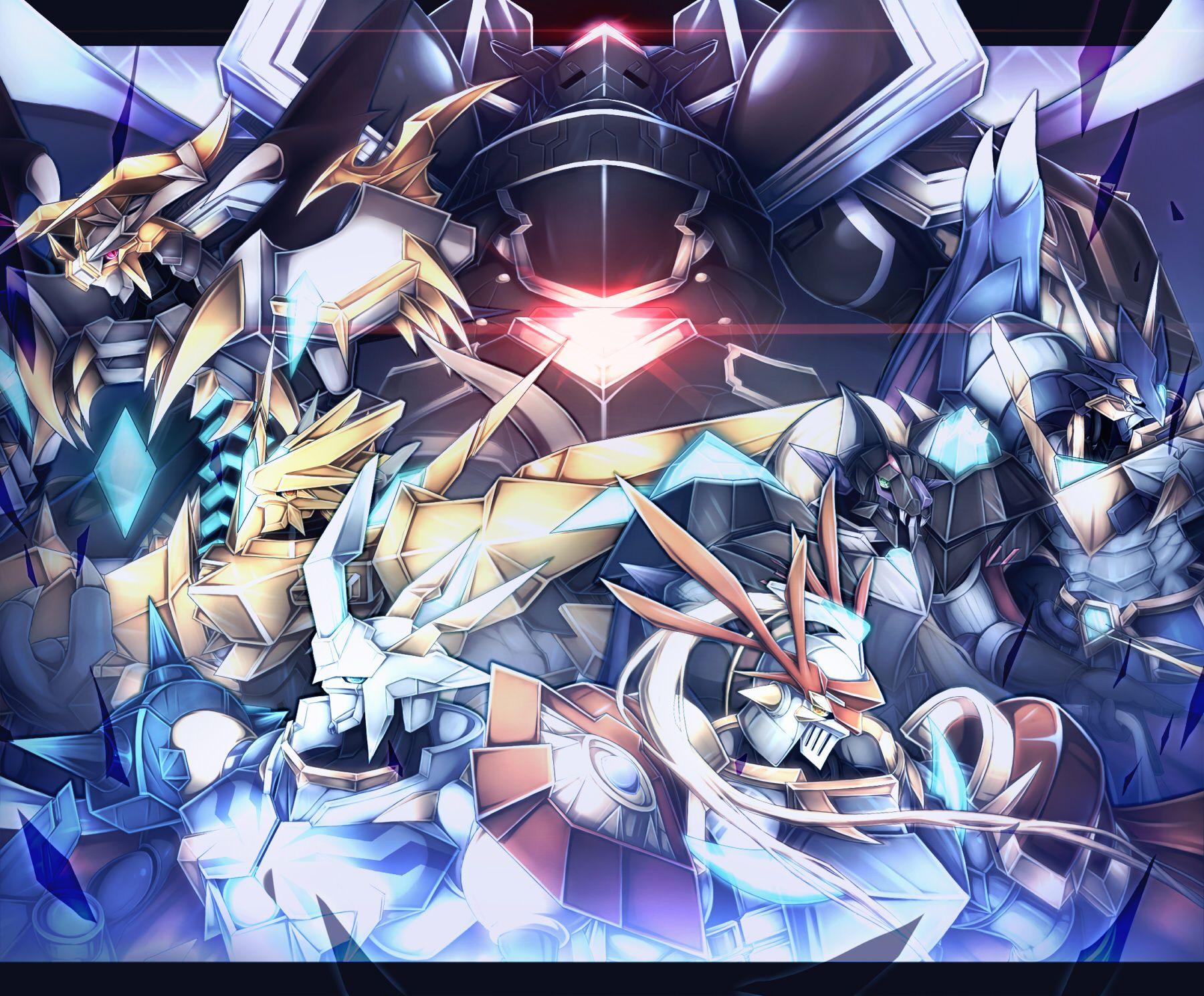ロイヤルナイツX抗体 | Digi | Digimon, Digimon digital monsters ...