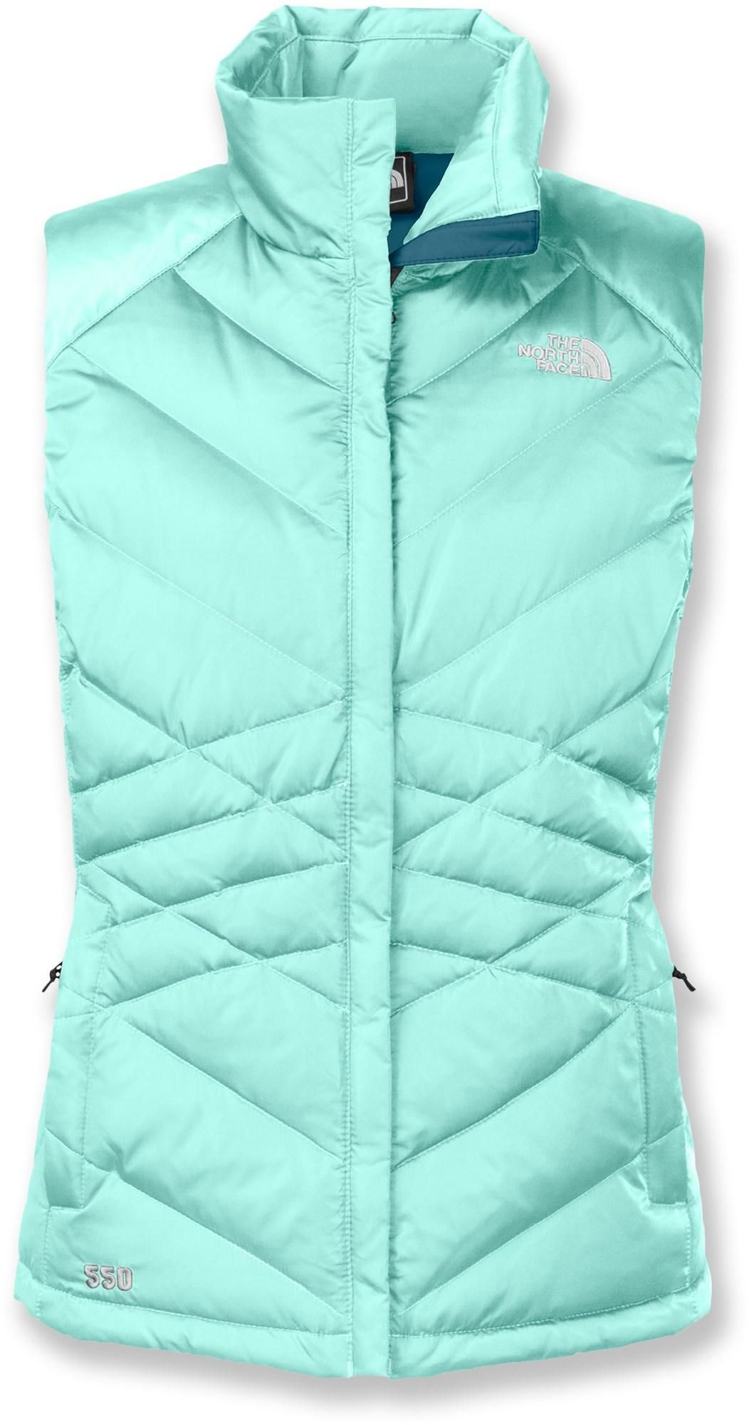 The North Face Aconcagua women's down vest wraps you in trail-ready warmth. #REIGifts