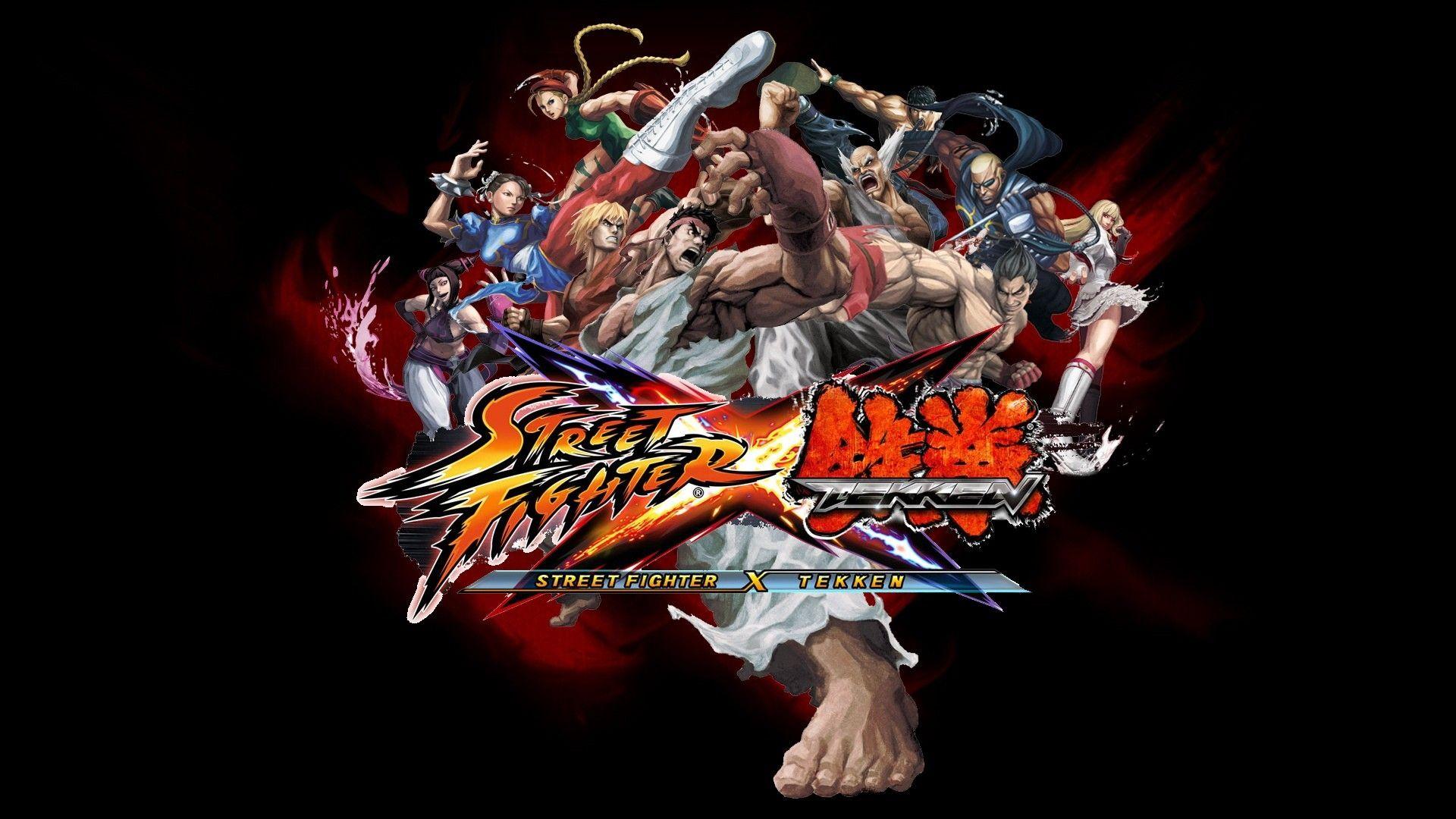 Download Wallpaper 1920x1080 Street Fighter X Tekken Characters