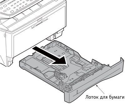 Проблема подачи бумаги из лотка Kyocera FS 1030MFP 1035MFP