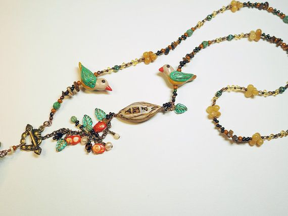 Hey, I found this really awesome Etsy listing at https://www.etsy.com/uk/listing/474068066/free-shipping-beaded-birds-necklace-bird