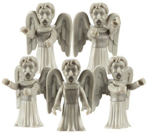 """Doctor Who Army Builder Multi Pack pleureur Angel 5 Dr Who 2/"""" Mini Figures"""