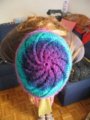 Ravelry: Noro spiral one-skein hat pattern by Manuèle Ducret