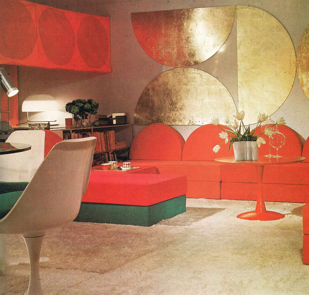 Best Living Rooms 1972 Vintage Interiors Vintage Interior 400 x 300