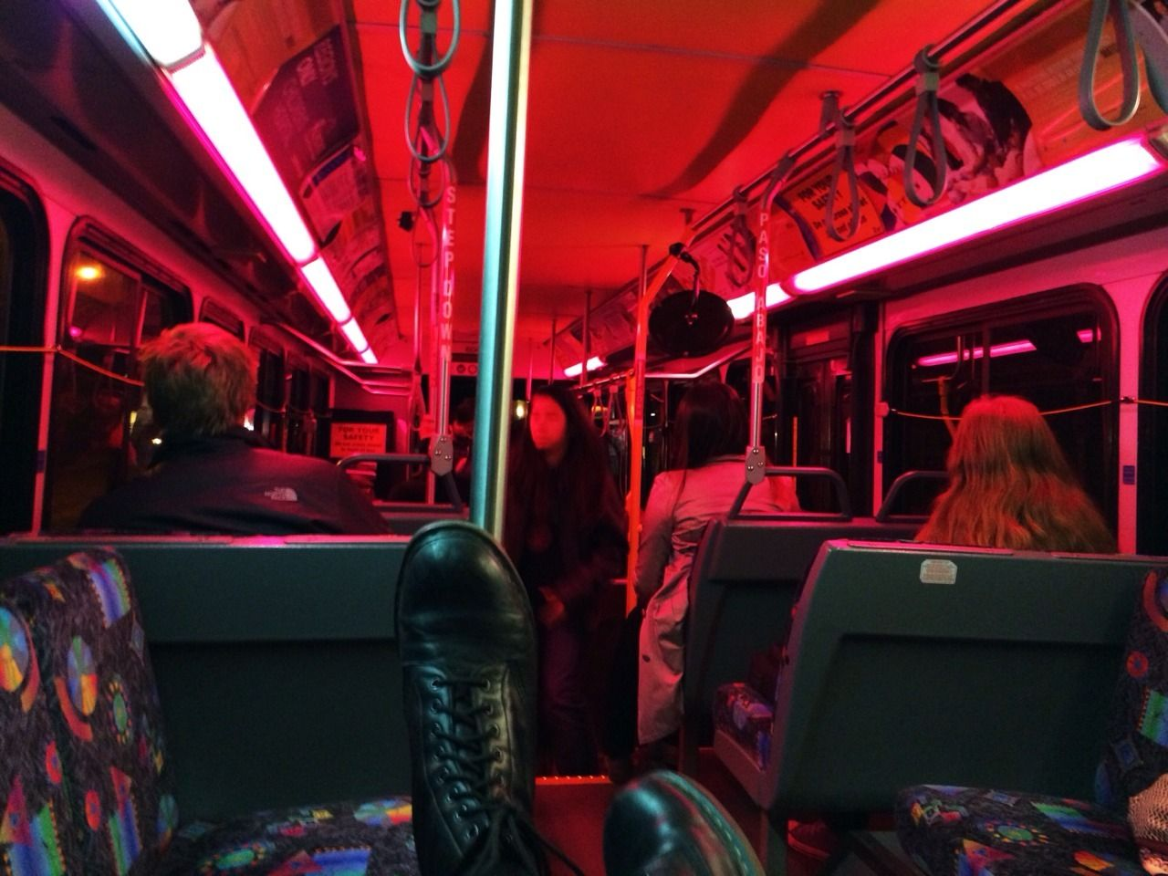 Ben Alessi The Bus Looks Pretty Red Aesthetic Aesthetic Photo