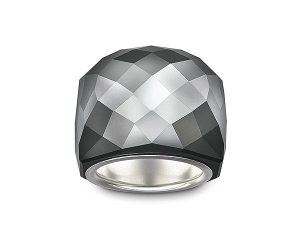 #FW12 Collection: Nirvana Jet Hematite Ring by #Swarovski