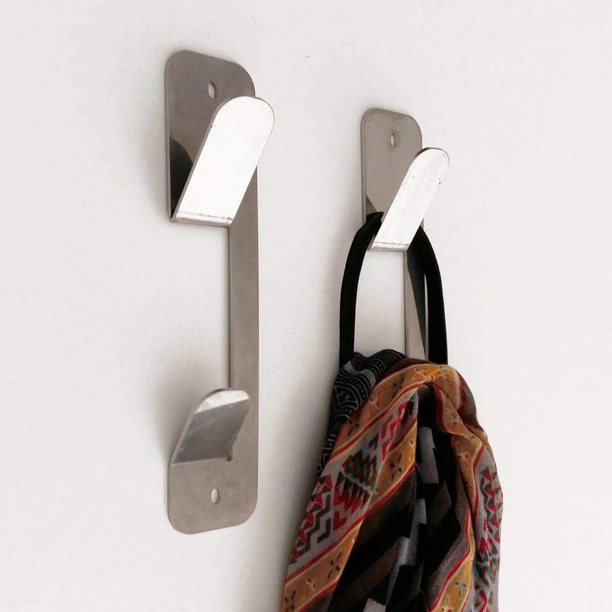 Muett percheros de acero inoxidable ideales para el ba o - Percheros de acero ...